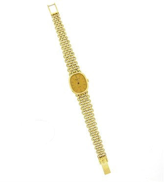 thumbnail image of Patek Philippe Lady's 18k Gold Bracelet Wristwatch Ref 4464