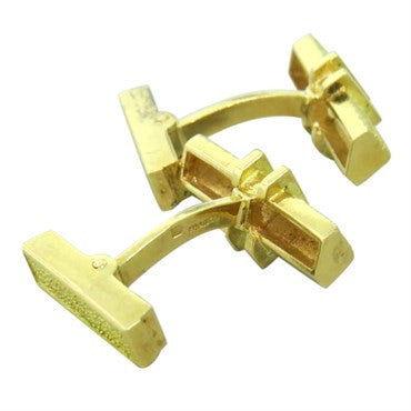 thumbnail image of 1960s French Gold Cufflinks