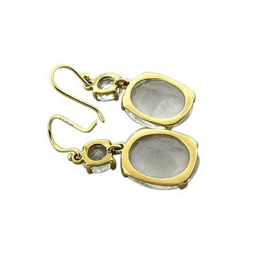 thumbnail image of Ippolita 18K Yellow Gold Quartz Drop Earrings