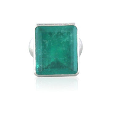 image of New Huge Gurhan Platinum Emerald Ring