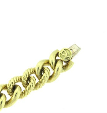 thumbnail image of David Yurman Gold Chain Link Bracelet