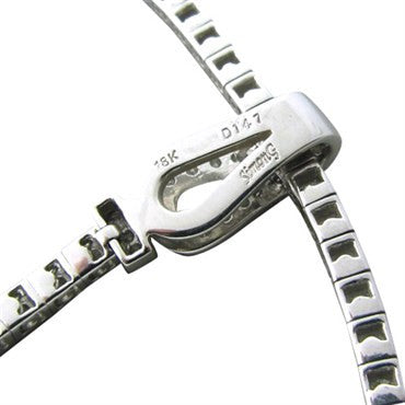 thumbnail image of Estate Simon G 18K White Gold 1.47ctw Diamond Necklace