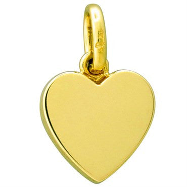 image of New Pomellato Orsetto 18k Gold Heart Pendant Charm
