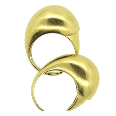image of Tiffany & Co. Rare 18k Gold Cuff Ring Set