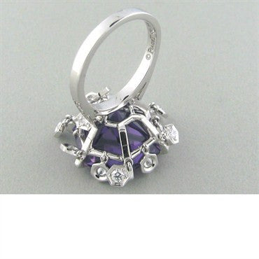 thumbnail image of Piaget Magic Gardens 18k Gold Amethyst Diamond Ring