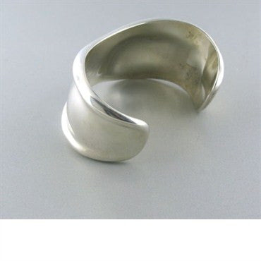 thumbnail image of Tiffany & Co Elsa Peretti Sterling Bone Cuff Bracelet