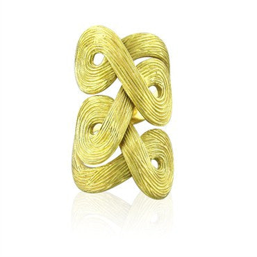 image of H. Stern Celtic Dunes 18K Yellow Gold Ring