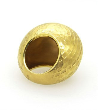 image of Pomellato Duna 18k Gold Dome Ring