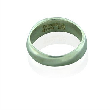 image of Estate Tiffany & Co Sterling Silver Rolling Band Ring