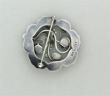 thumbnail image of Georg Jensen Denmark Sterling Silver Brooch Pin Number 159