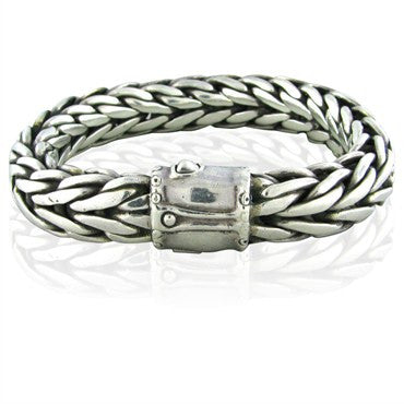 image of John Hardy Sterling Silver Large Mens Bracelet