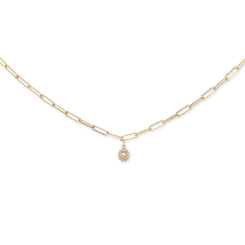 image of Ana Katarina California Dreaming Diamond Necklace