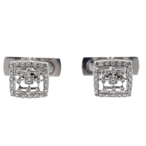 Favero 18k Gold Diamond Cufflinks