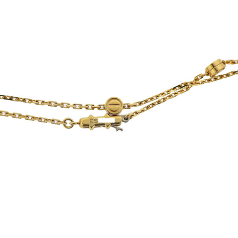 image of Vintage Cartier Love Station Gold Long Necklace