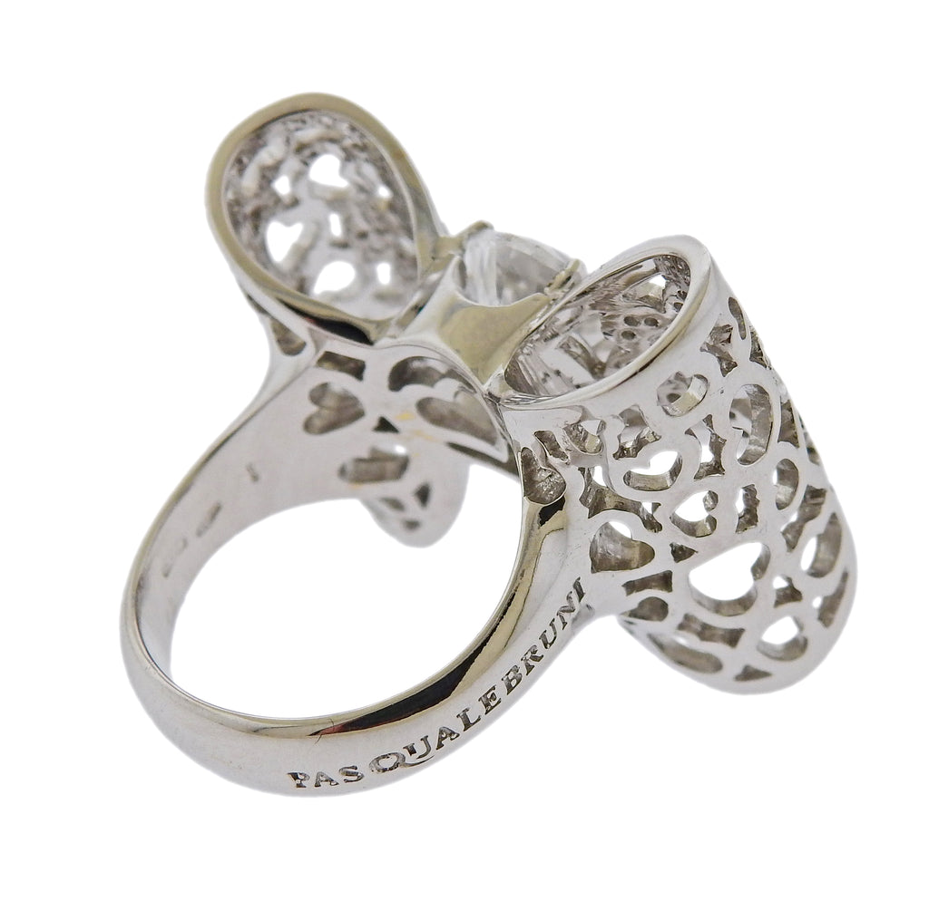 thumbnail image of Pasquale Bruni Diamond Gold Bow Ring