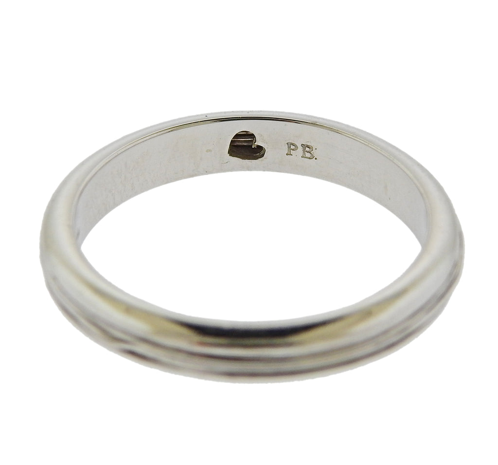 thumbnail image of Pasquale Bruni Amore White Gold Band Ring