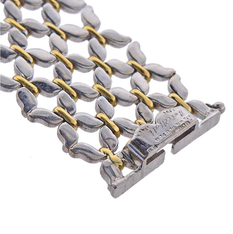 image of Buccellati White Yellow Gold Bracelet