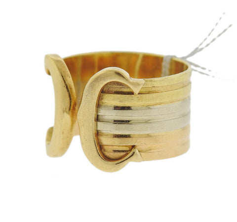image of Cartier CC Cuff 18k Gold Ring
