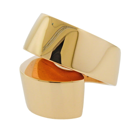 image of Vhernier Gold Kiss Ring