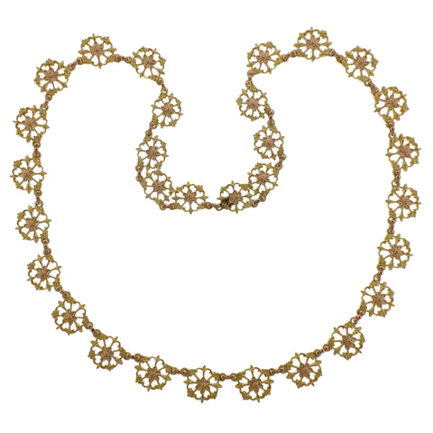 image of Buccellati Prestigio Gold Link Necklace
