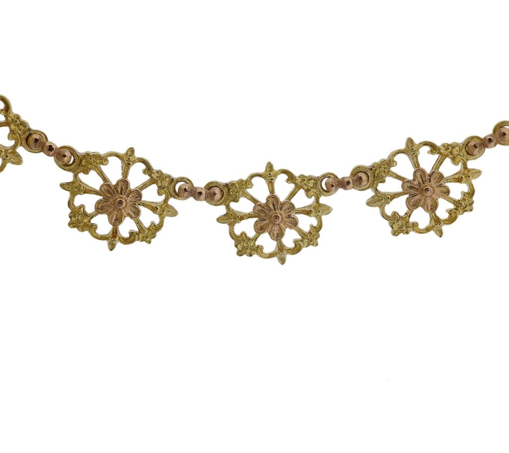 thumbnail image of Buccellati Prestigio Gold Link Necklace