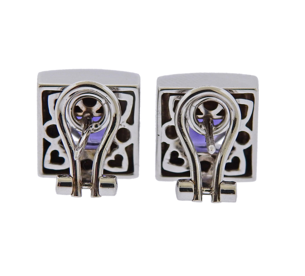 thumbnail image of Pasquale Bruni Iolite Square Earrings