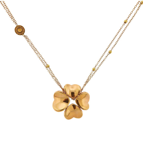 image of Pasquale Bruni Four Leaf Clover 4Love Pendant Necklace
