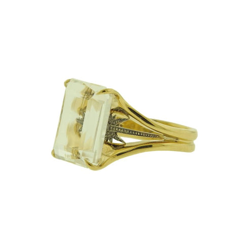 image of H. Stern Stars Crystal Gold Ring