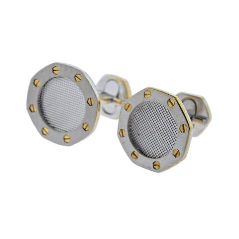 image of Audemars Piguet Royal Oak Gold Cufflinks