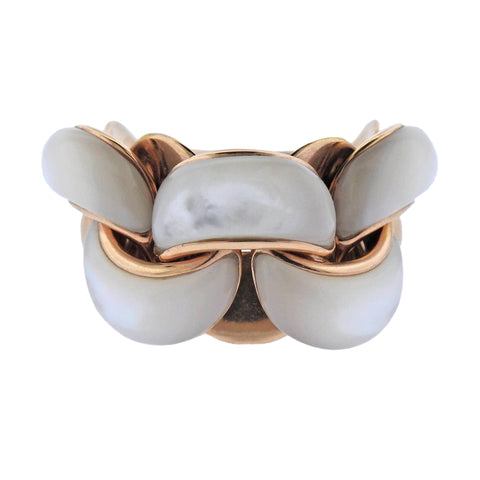 image of Chimento Mother of Pearl 18k Gold Ring