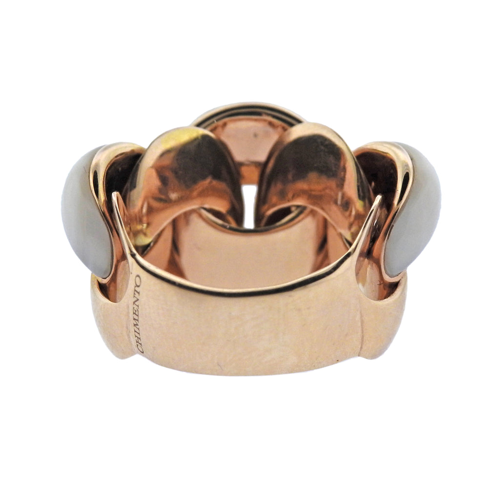 thumbnail image of Chimento Mother of Pearl 18k Gold Ring
