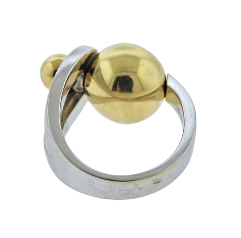image of Fred Paris Geometric Gold Ring