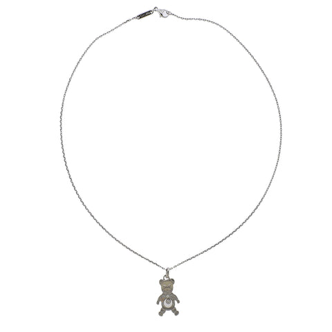 image of Chopard Happy Diamonds 18k Gold Teddy Bear Pendant Necklace 79/5271