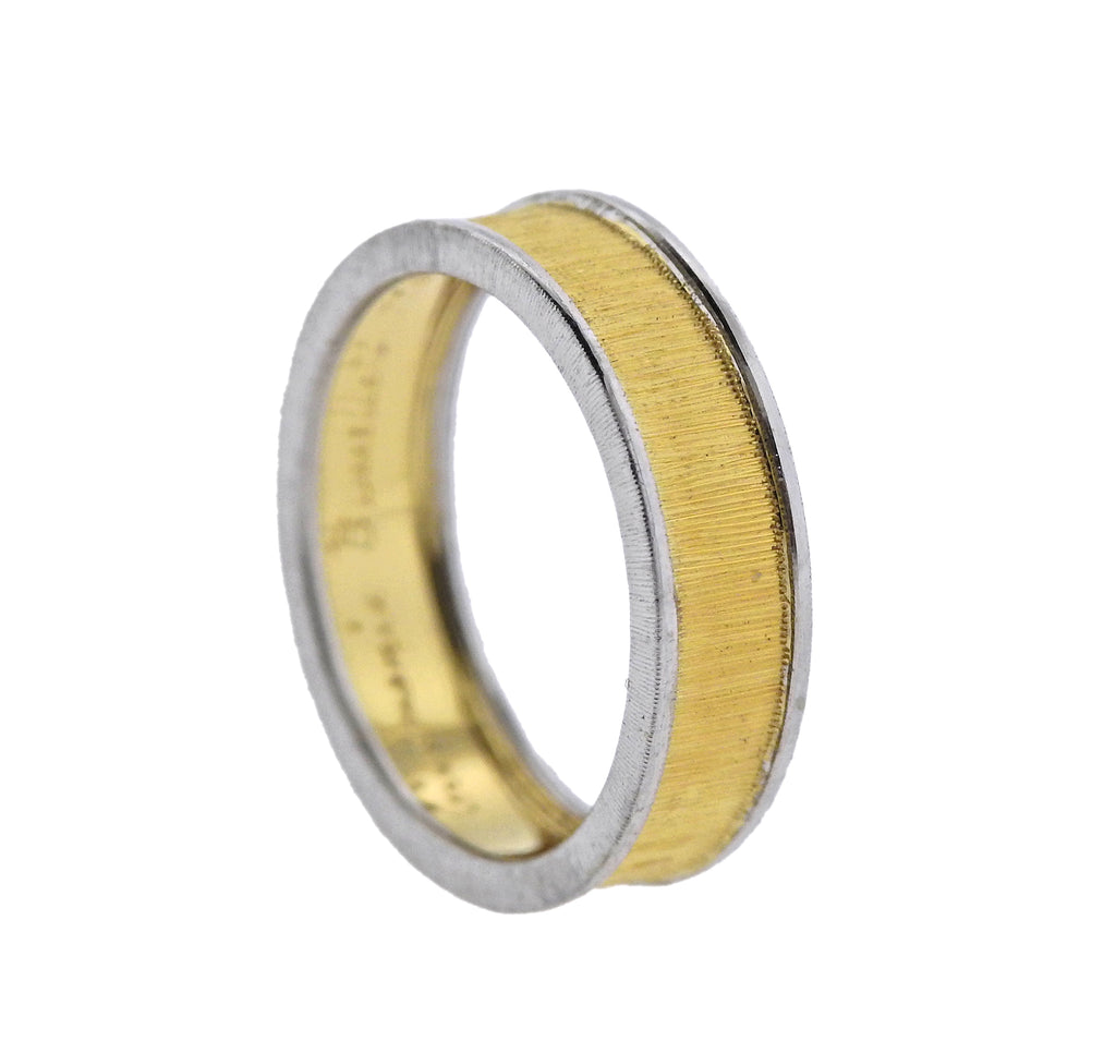 thumbnail image of Buccellati Two Color Gold Wedding Band Ring