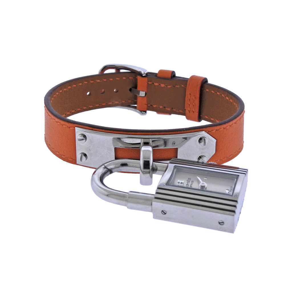 thumbnail image of Hermes Kelly Steel Watch Bracelet