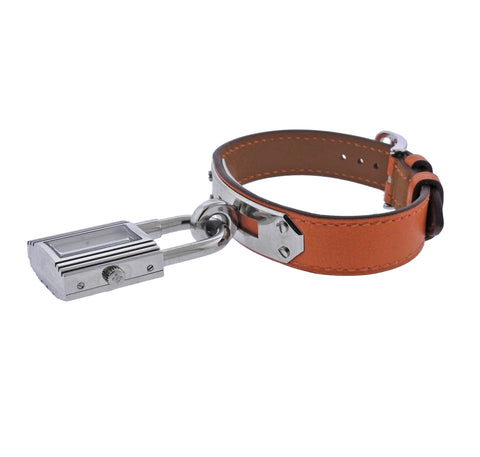 image of Hermes Kelly Steel Watch Bracelet