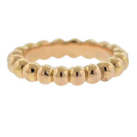 image of Van Cleef & Arpels Perlee Pearls of Gold Band Ring