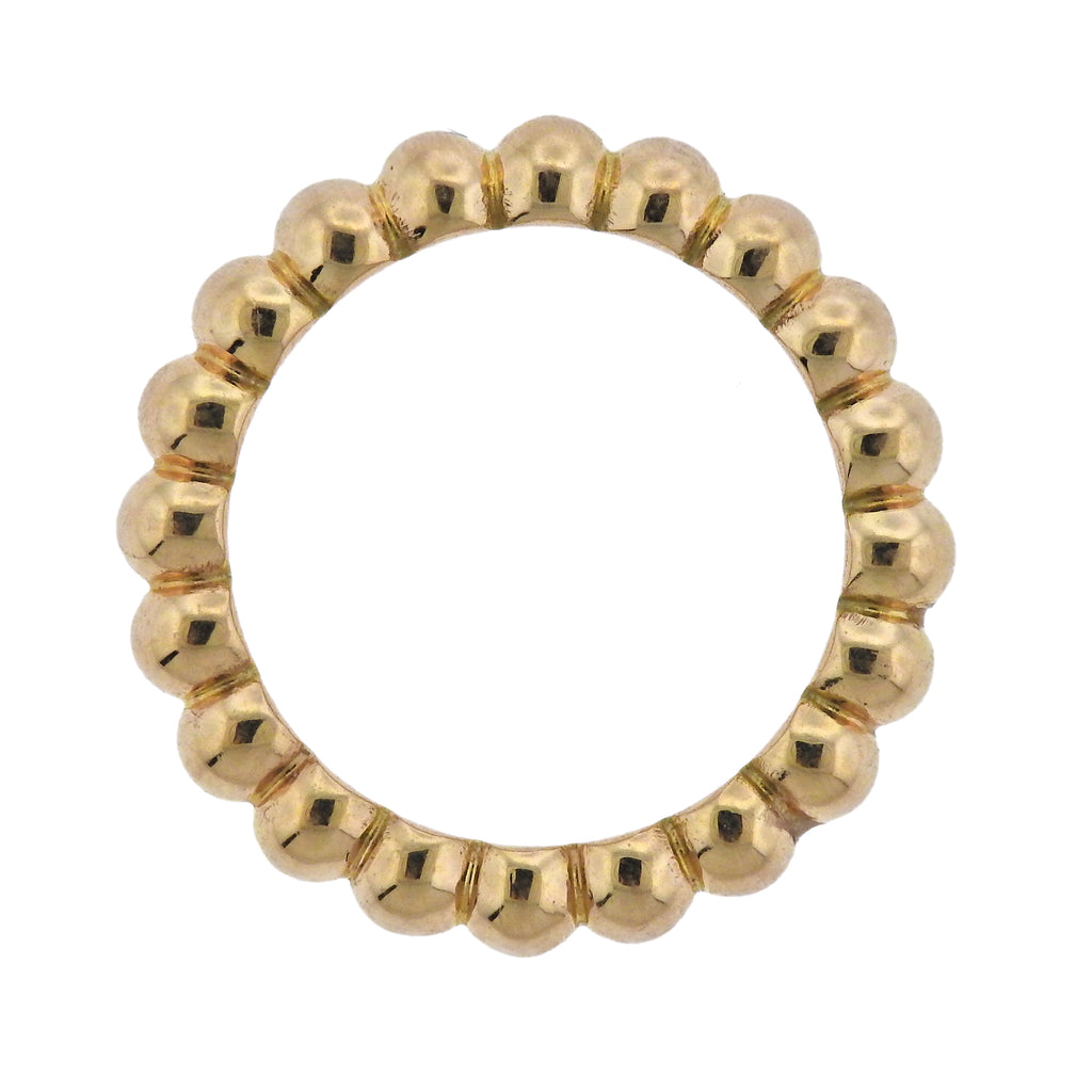 thumbnail image of Van Cleef & Arpels Perlee Pearls of Gold Band Ring
