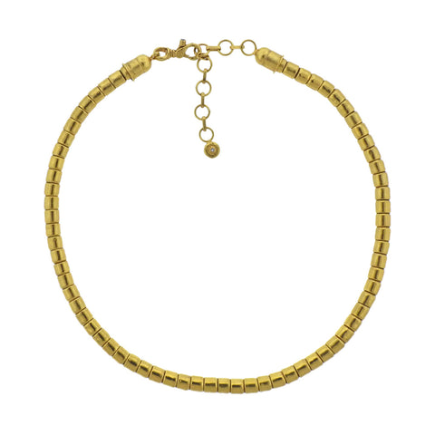 image of Gurhan Diamond Gold Bead Necklace