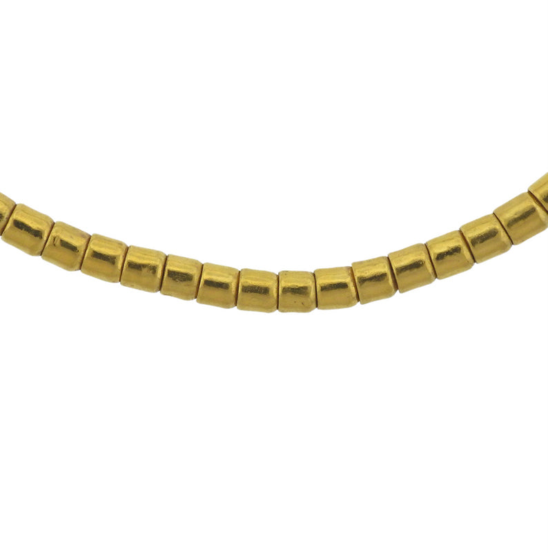thumbnail image of Gurhan Diamond Gold Bead Necklace