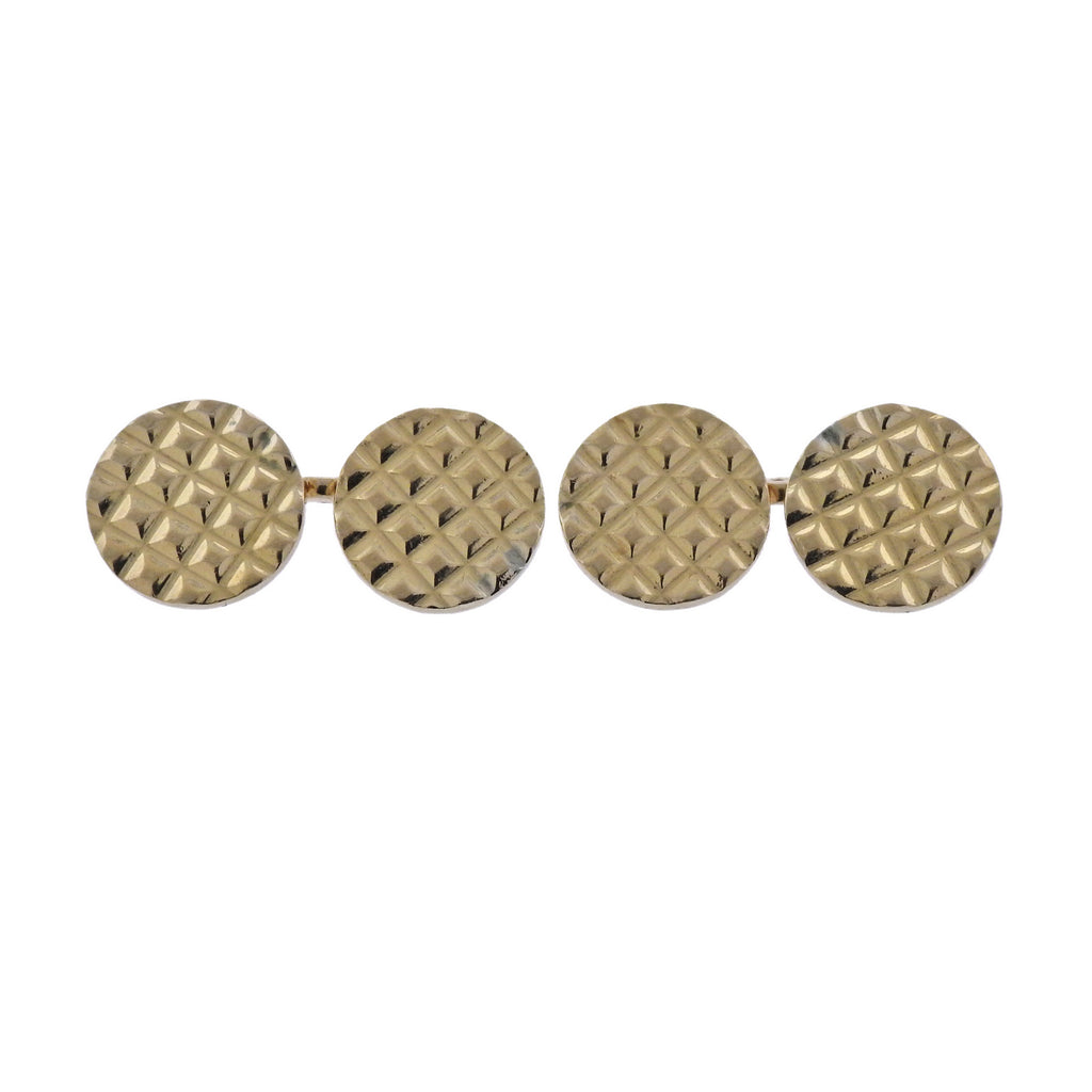 thumbnail image of Retro Cartier Gold Cufflinks