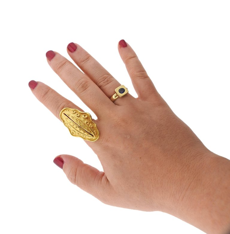 thumbnail image of Large Ilias Lalaounis Gold Ring