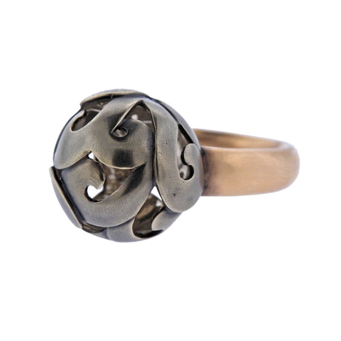 image of New Preziosismi 18K Gold Cocktail Ring