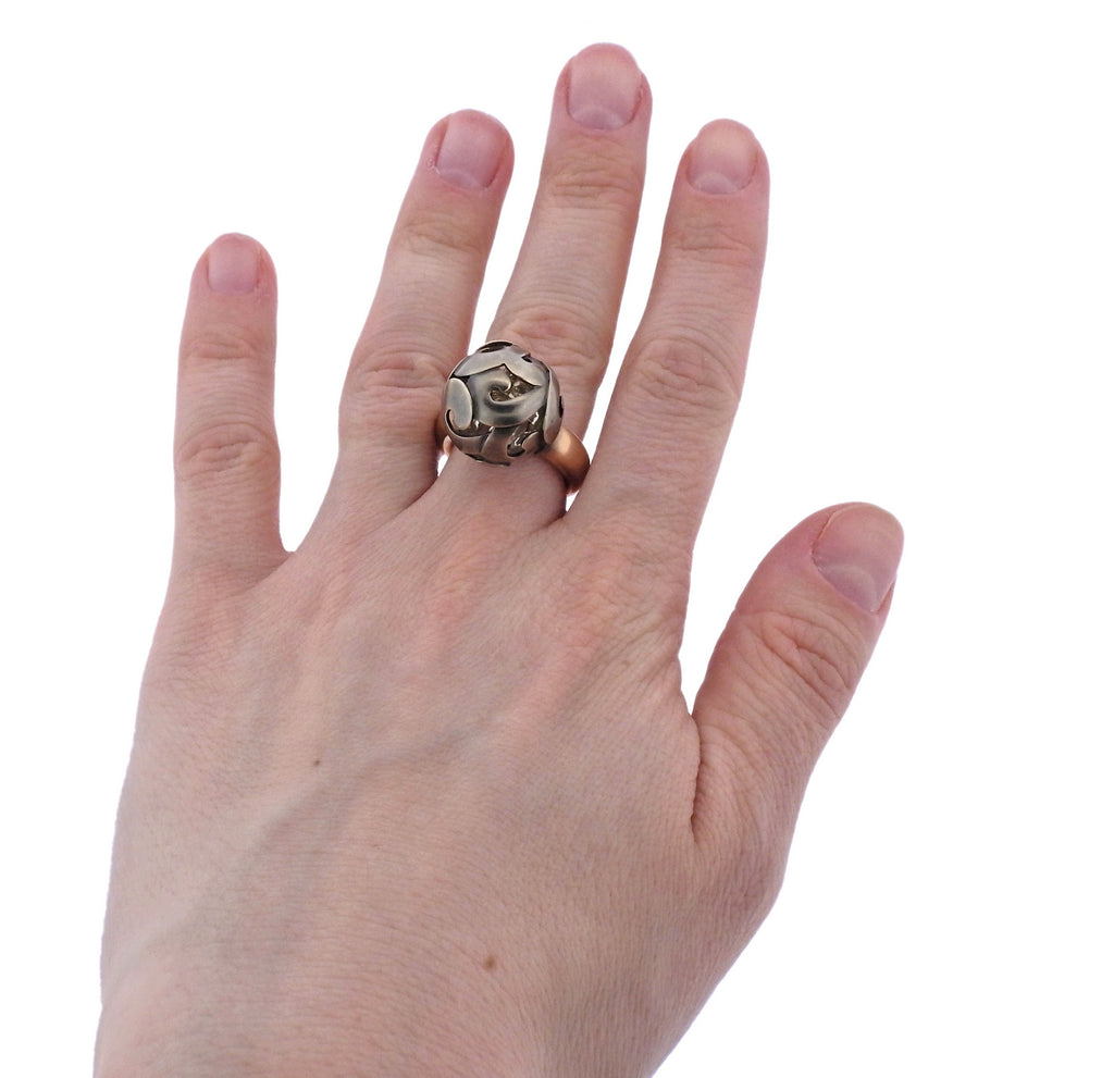 thumbnail image of New Preziosismi 18K Gold Cocktail Ring