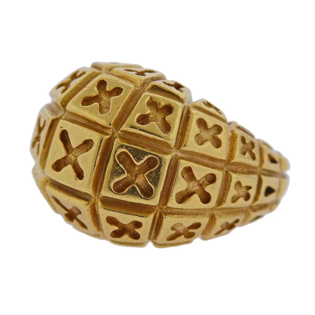 thumbnail image of Van Cleef & Arpels Gold Dome Ring