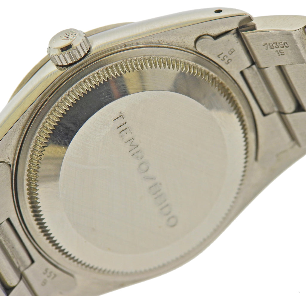 thumbnail image of Rolex Oyster Perpetual Date Stainless Steel Watch 15200