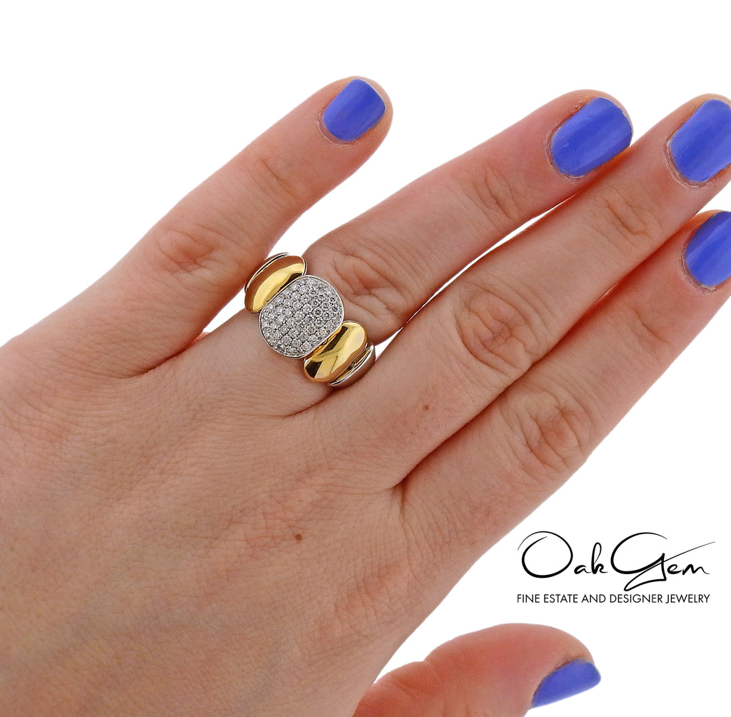thumbnail image of Chimento 18k Two Tone Gold Diamond Ring