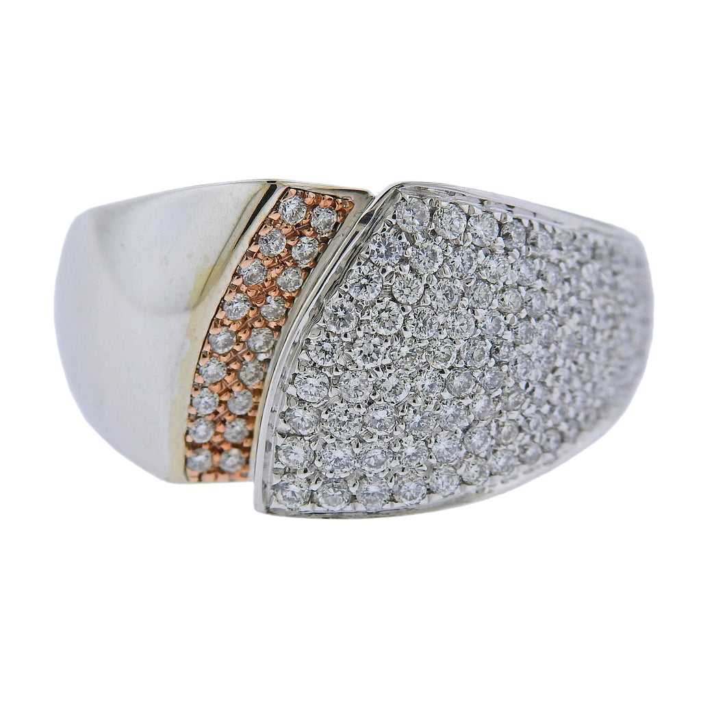 thumbnail image of Chimento 18k Gold Diamond Ring