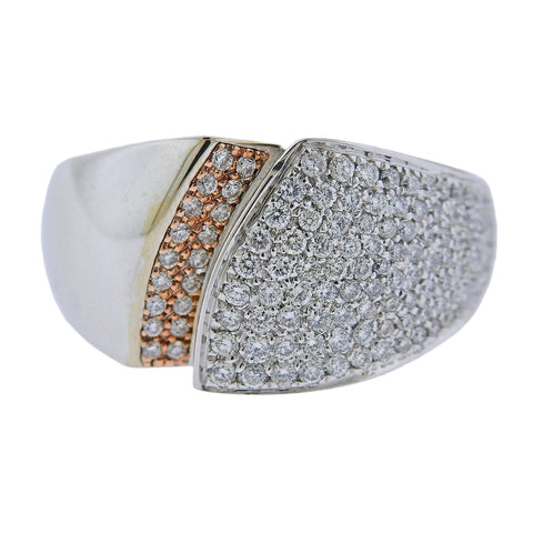 image of Chimento 18k Gold Diamond Ring