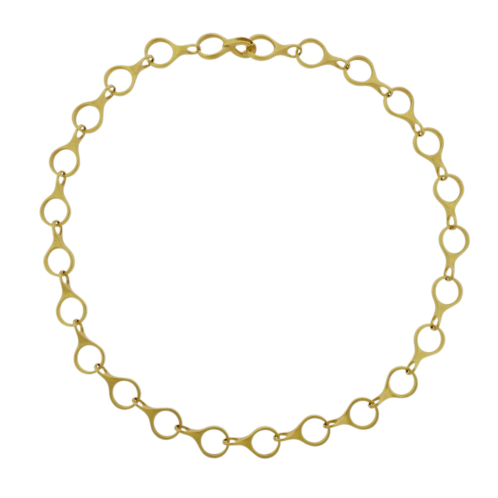 thumbnail image of Caroline Ellen Gold Link Necklace